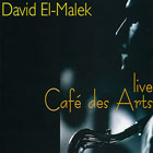 Live - Café des Arts cover